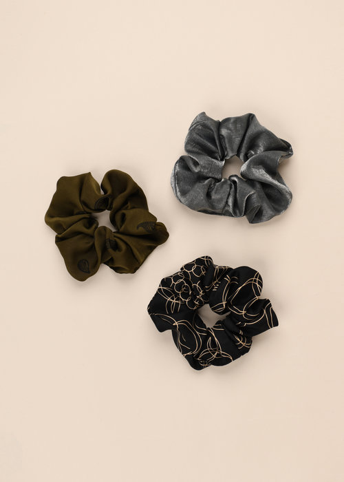 By PSC By PSC - Olive Scrunchies Set