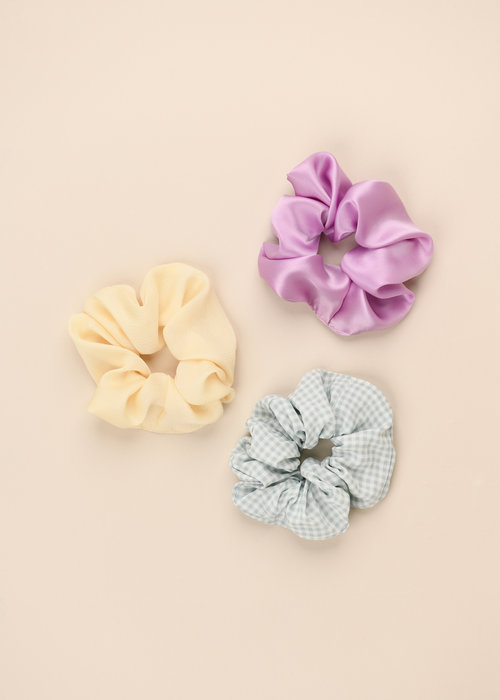 By PSC By PSC - Pastel Scrunchies Set