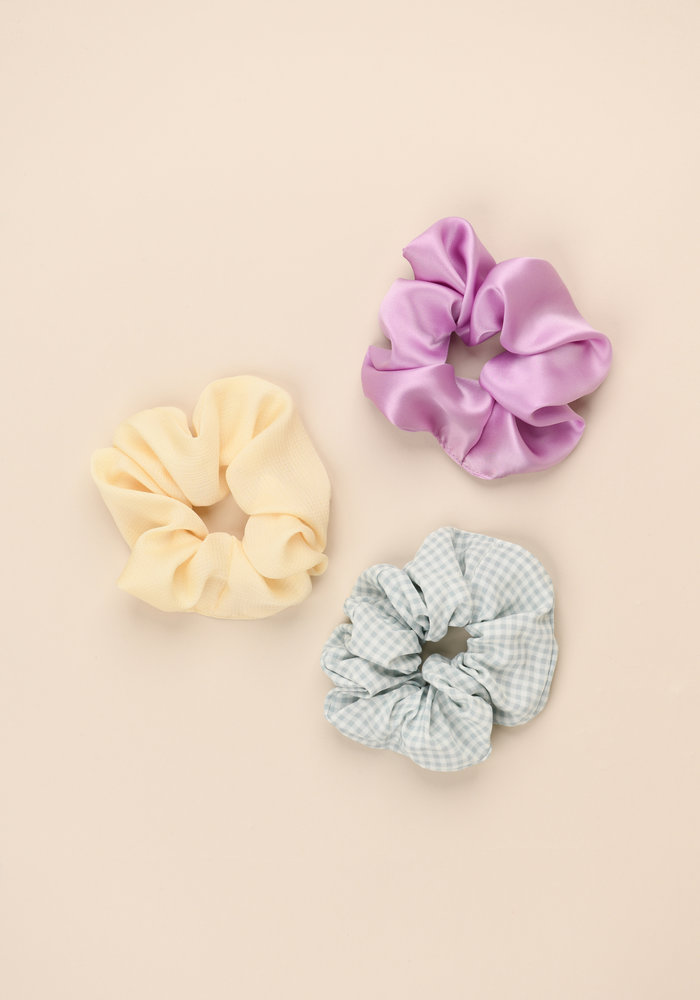 By PSC - Pastel Scrunchies Set