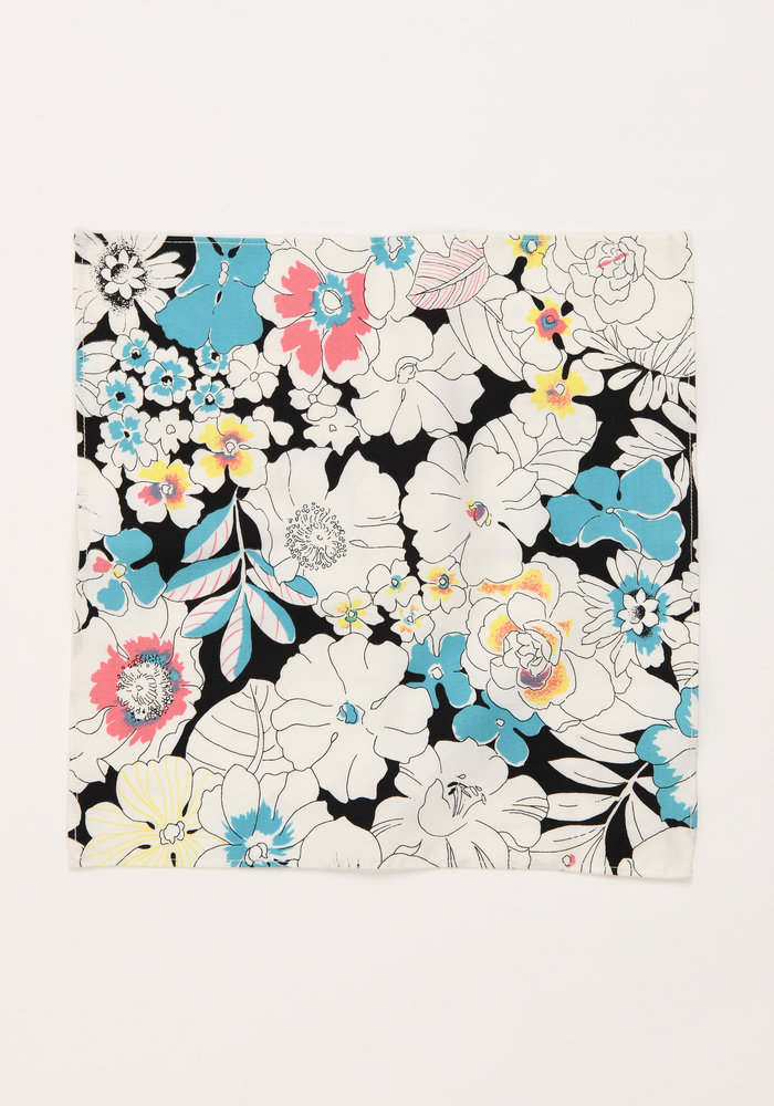 The Ennis Floral Pocket Square