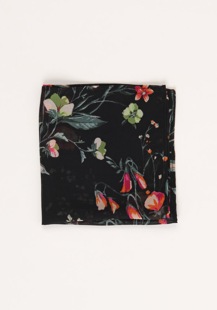 The Augusta Floral Pocket Square