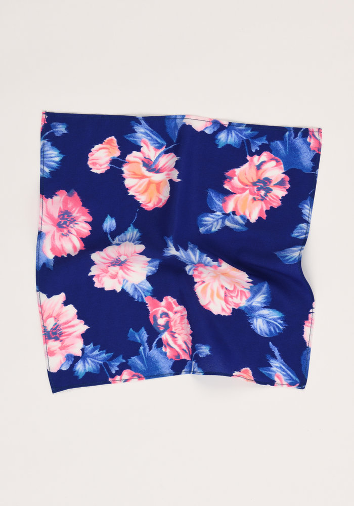 The Winslow Floral Pocket Square