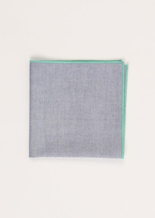 Pocket Square Clothing The Merrow (Mint Chambray) Pocket Square