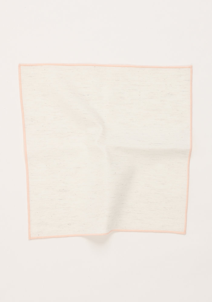 The Merrow (Blush Pink) Pocket Square