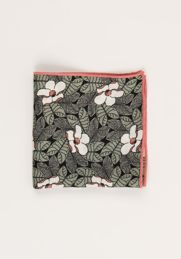 The Davis Floral Pocket Square