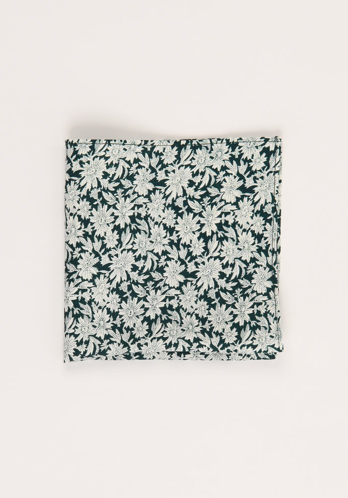 The Eaton Floral Pocket Square
