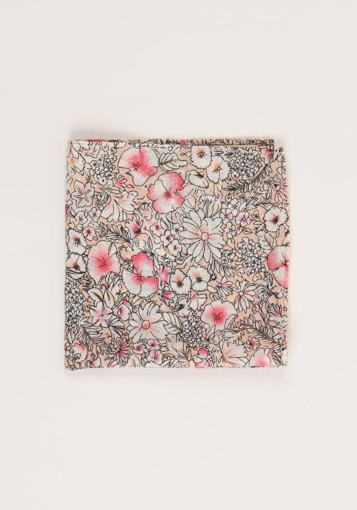 The Olivia Floral Pocket Square