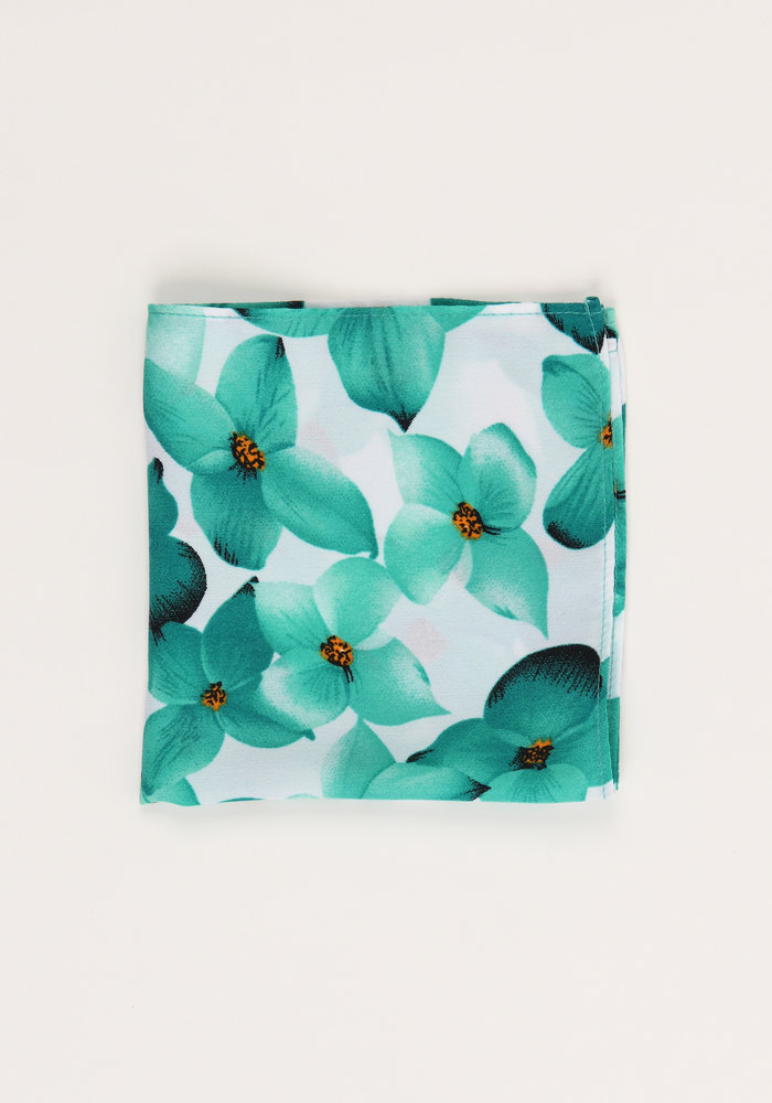 The Alice Floral Pocket Square