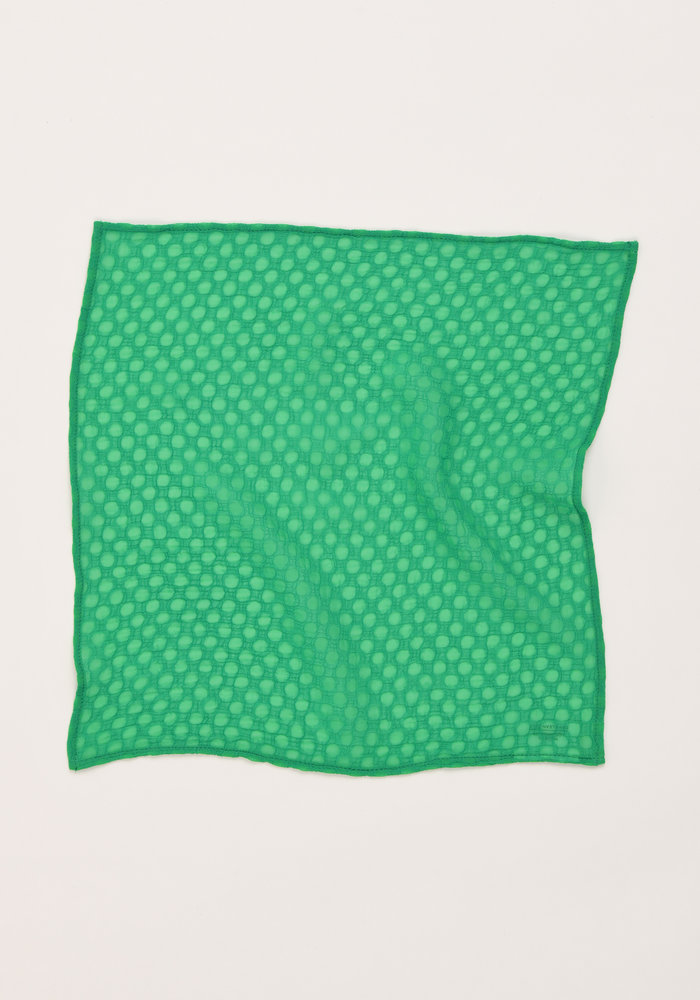 The Jade Pocket Square