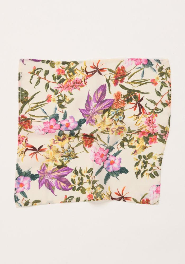 The Lenah Floral Pocket Square