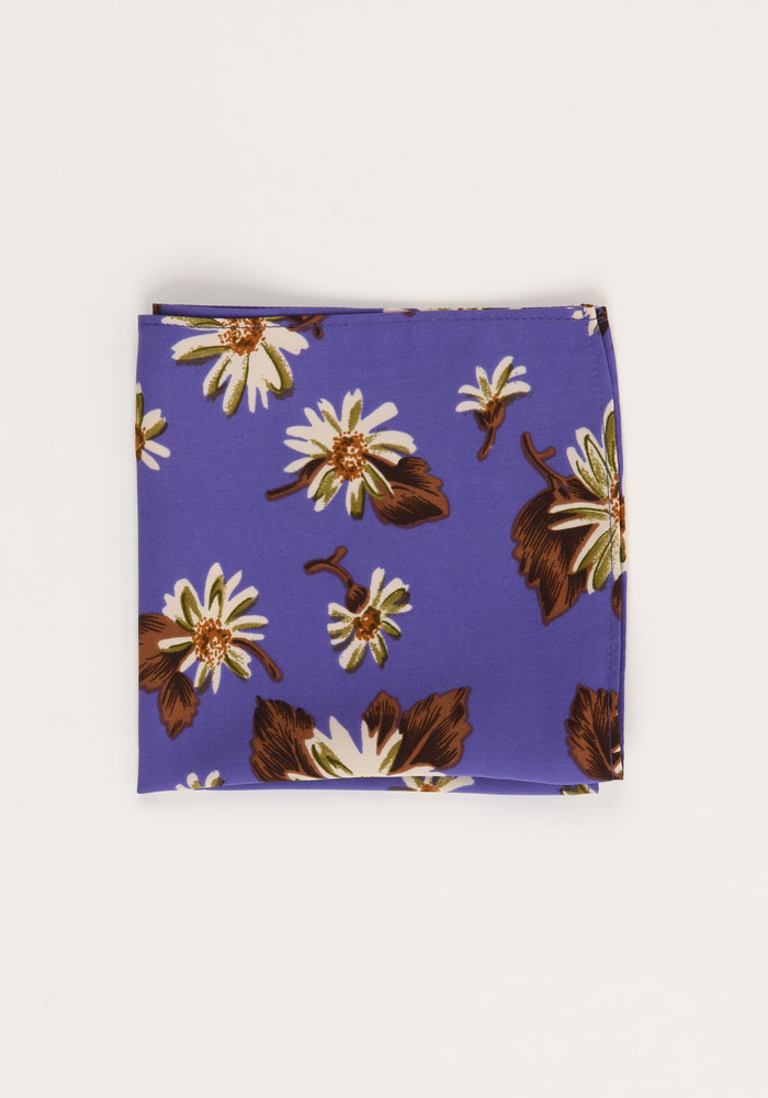 The Ewing Floral Pocket Square