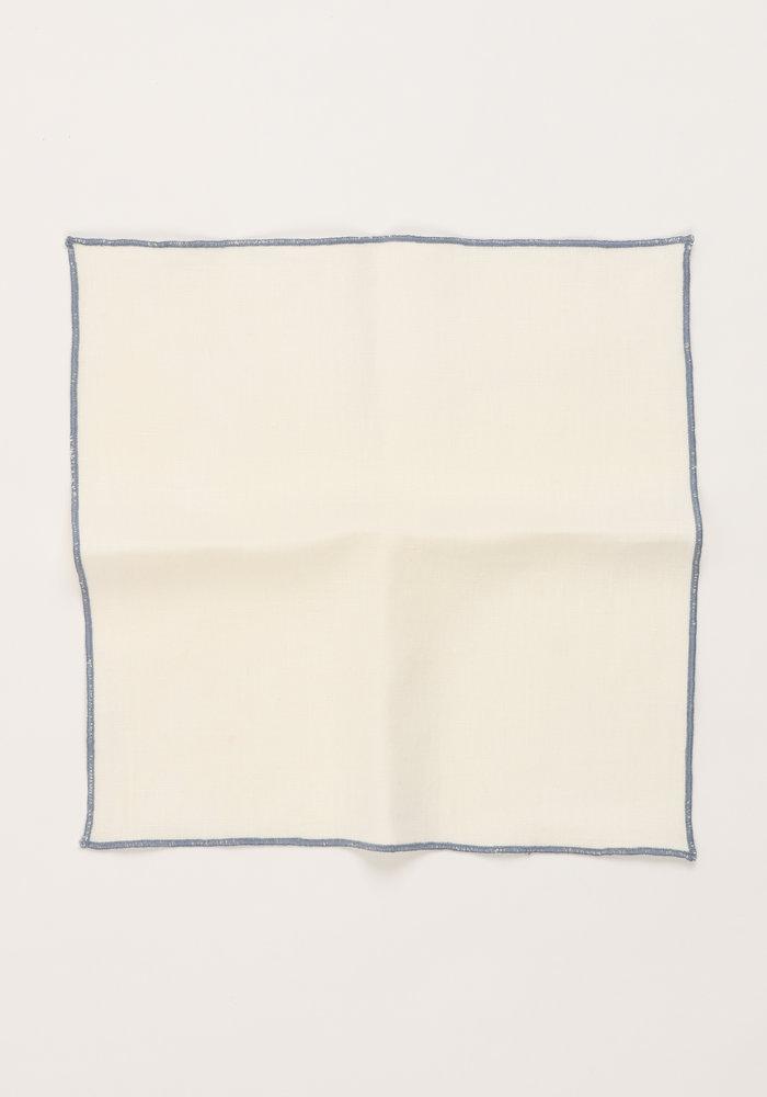 The Merrow (Slate Blue) Pocket Square