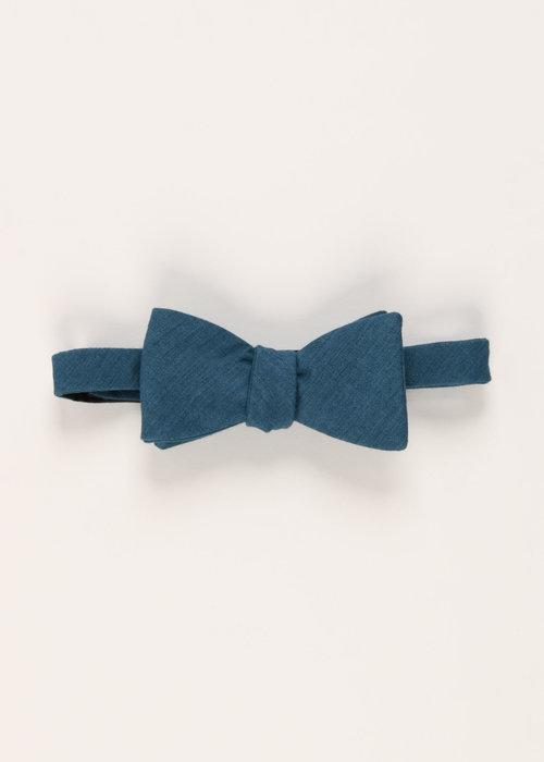 Pocket Square Clothing The Diplomat Bow Tie (Blue)