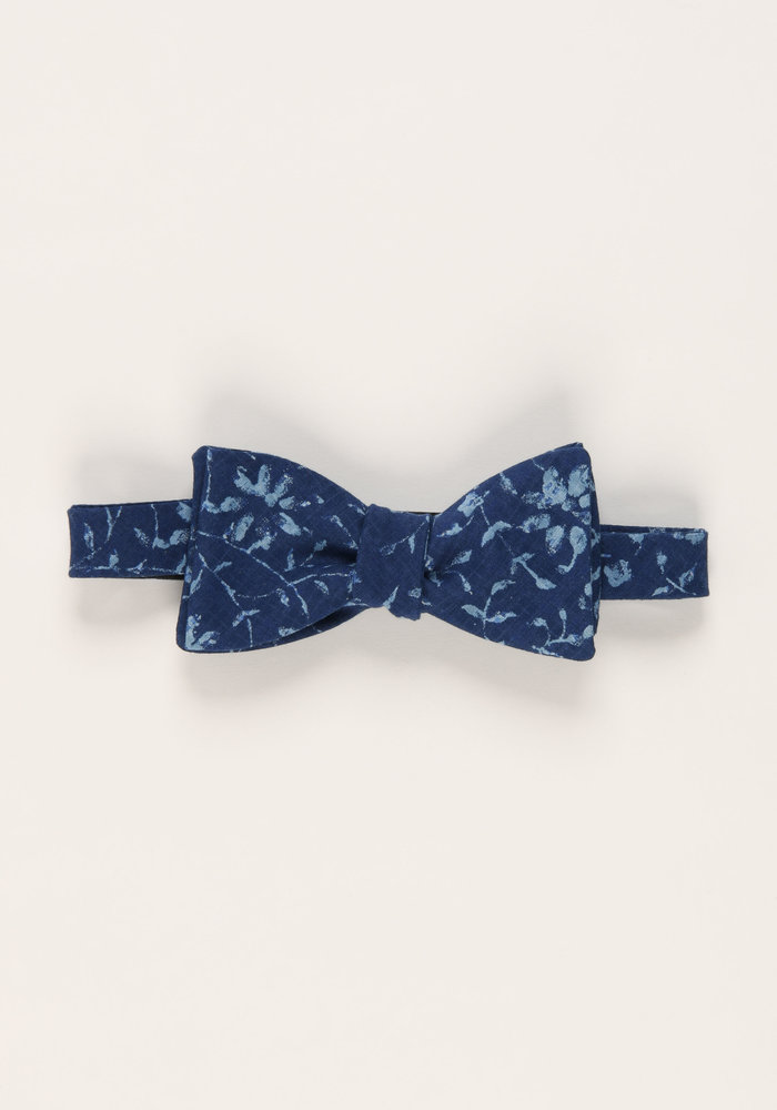 The Bayley Floral Bow Tie