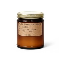 P.F. Candle Co. - No. 04 Teakwood & Tobacco 7.2 oz Soy Candle