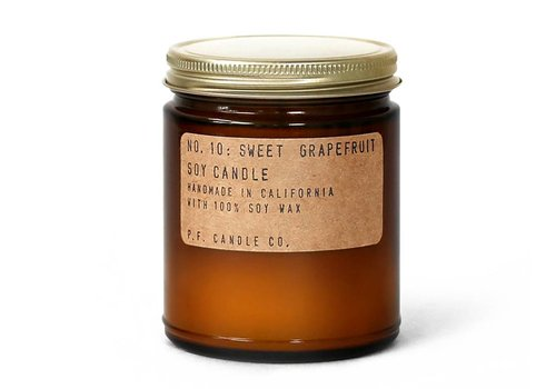 P.F. Candle Co. No. 10 Sweet Grapefruit 7.2 oz Soy Candle