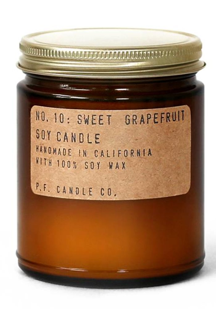 P.F. Candle Co. - No. 10 Sweet Grapefruit 7.2 oz Soy Candle
