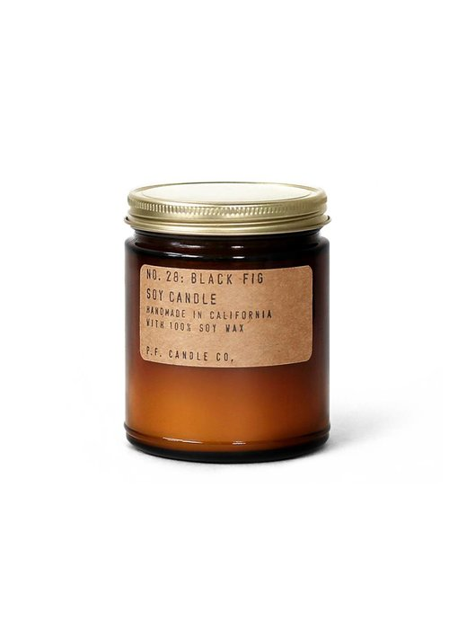 P.F. Candle Co. No. 28 Black Fig 7.2 oz Soy Candle