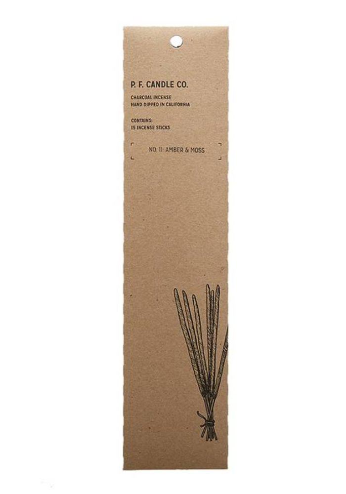 P.F. Candle Co. - No. 11 Amber & Moss Incense