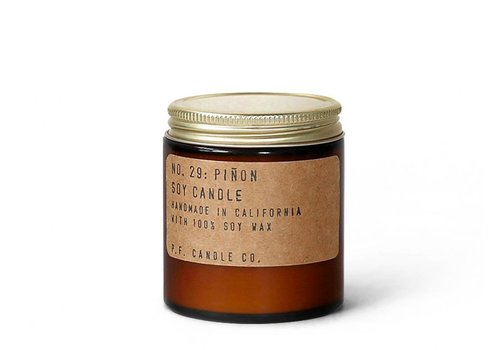 P.F. Candle Co. No. 29 Piñon 3.5 oz Mini Soy Candle