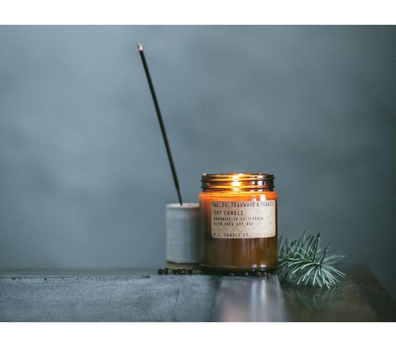 P.F. Candle Co. -  No. 29 Piñon 3.5 oz Soy Candle