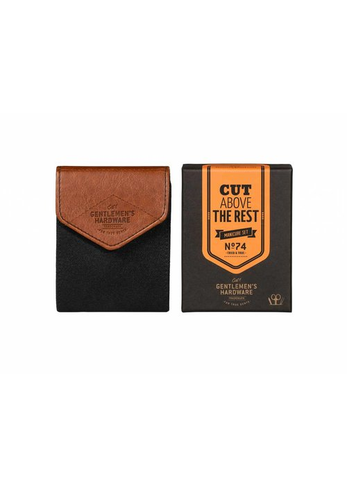 Gentlemen's Hardware Charcoal Manicure Set