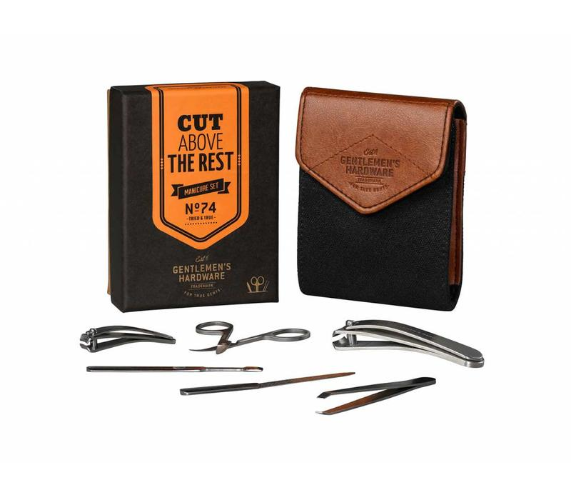 Gentlemen's Hardware - Charcoal Manicure Set