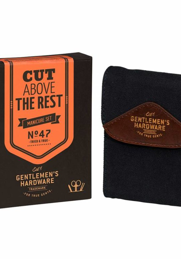 Gentlemen's Hardware - Navy Manicure Set