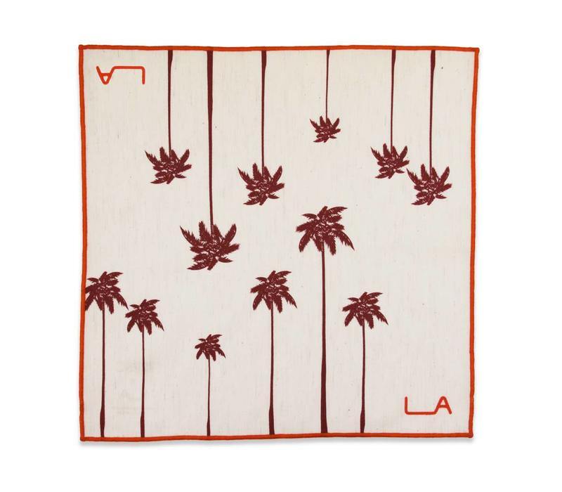 The La Brea Pocket Square