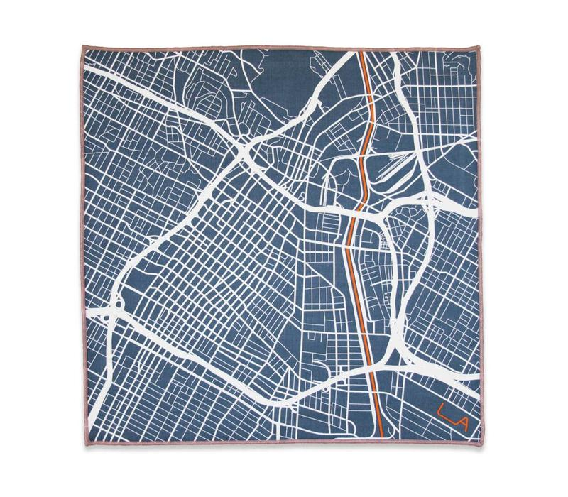 The Downtowner Pocket Square