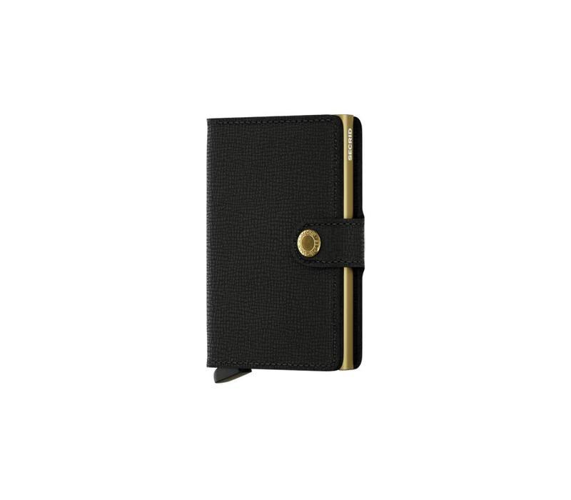 Secrid - Miniwallet - Crisple Black Gold