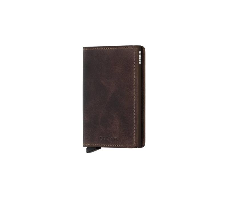Secrid - Slimwallet - Vintage Chocolate