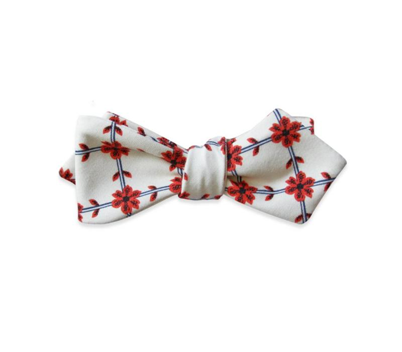 The Adele Floral Bow Tie