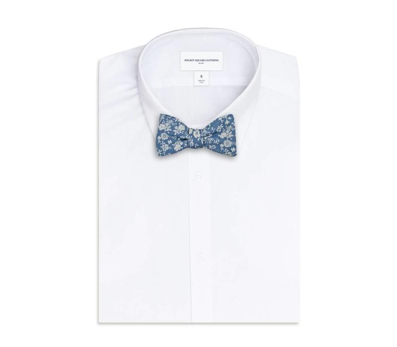 The Beal Floral Bow Tie