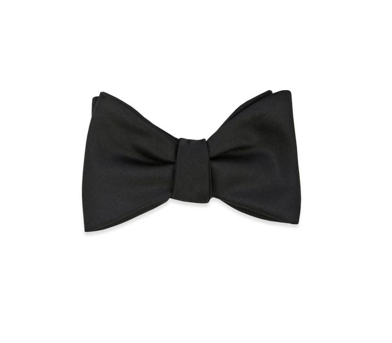 The Carlson Black Bow Tie