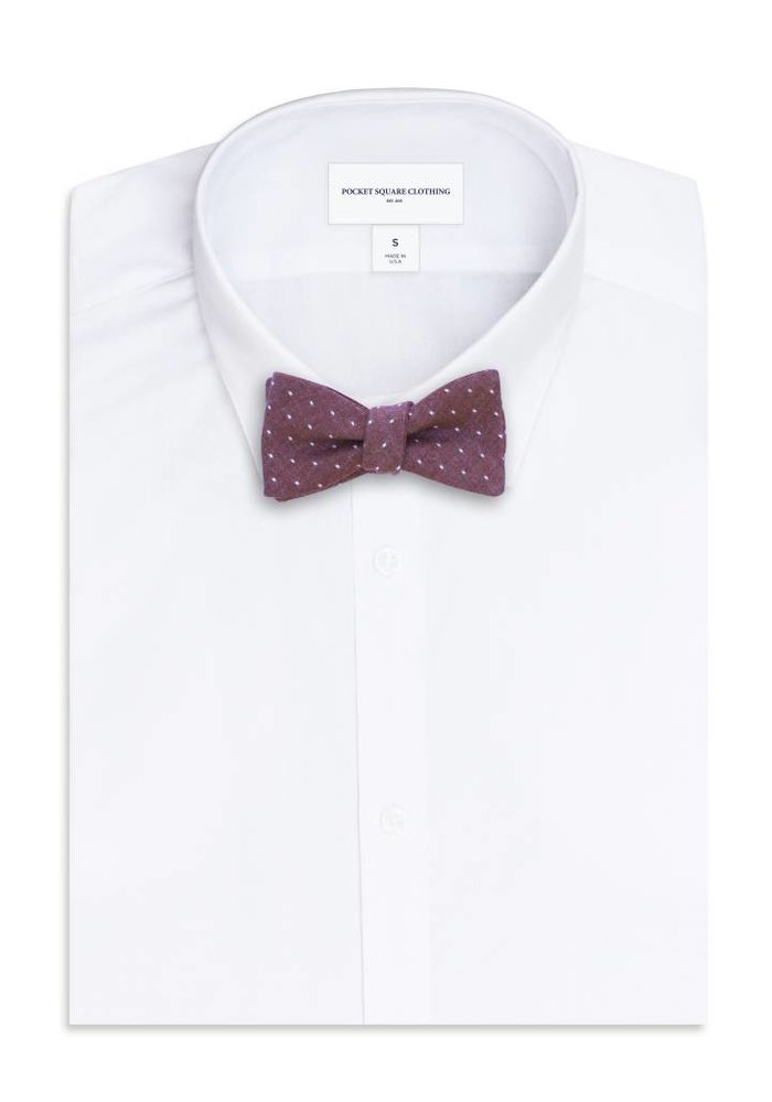 The Wilson Polka Dot Bow Tie