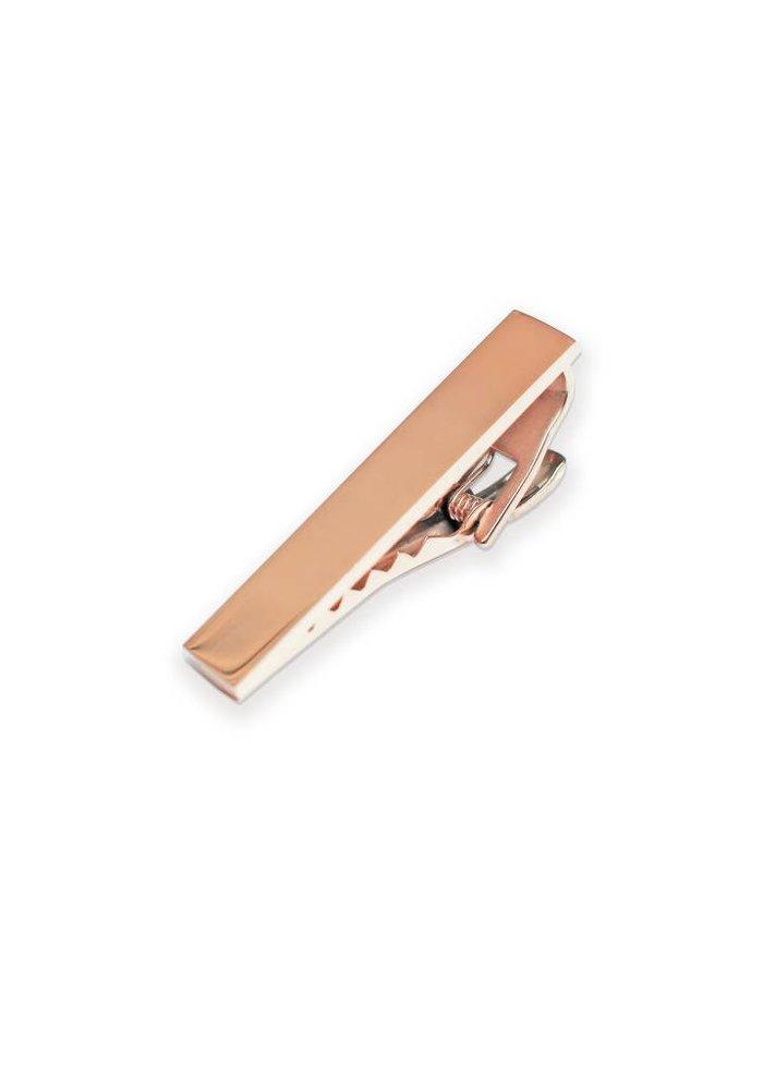 """Rose Gold Tie Clip 1.5"""""""