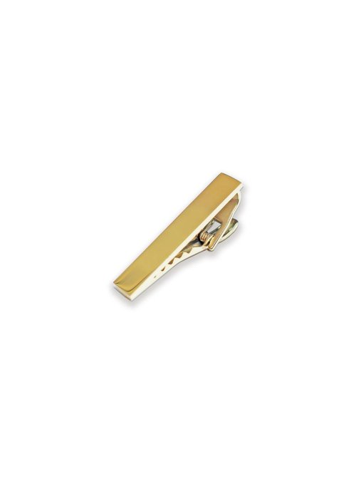 Pocket Square Clothing Gold Tie Clip 1.5""