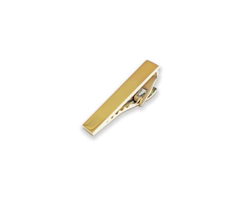 """Gold Tie Clip 1.5"""""""