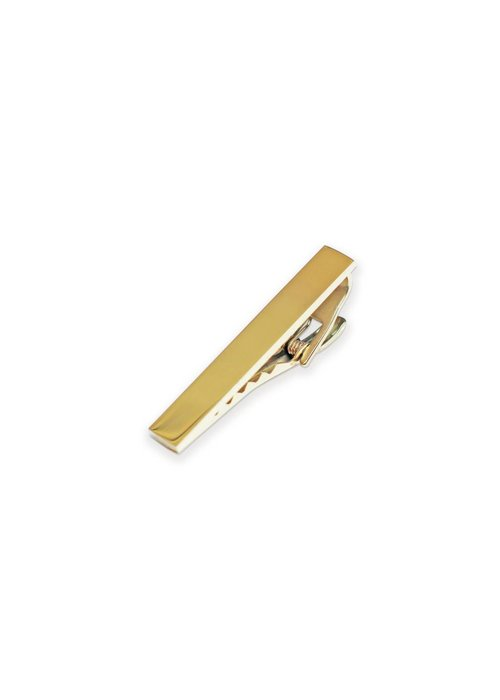 Pocket Square Clothing Gold Tie Clip 2""