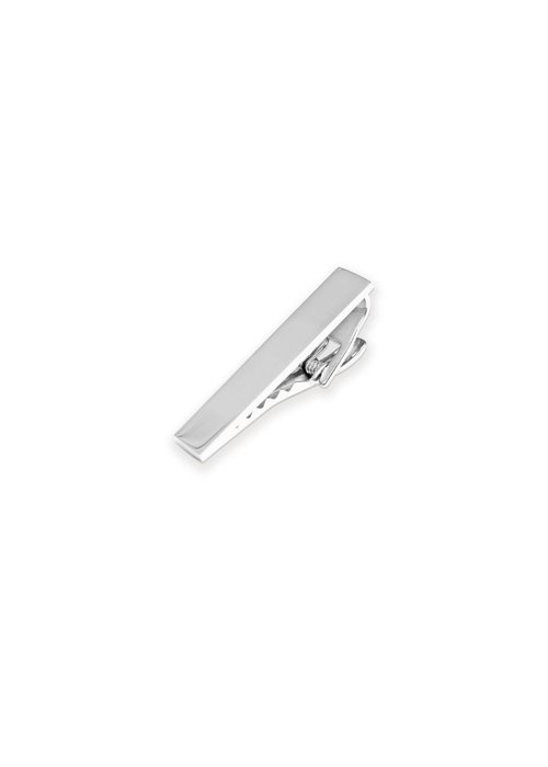 Pocket Square Clothing Silver Tie Clip 1.5""