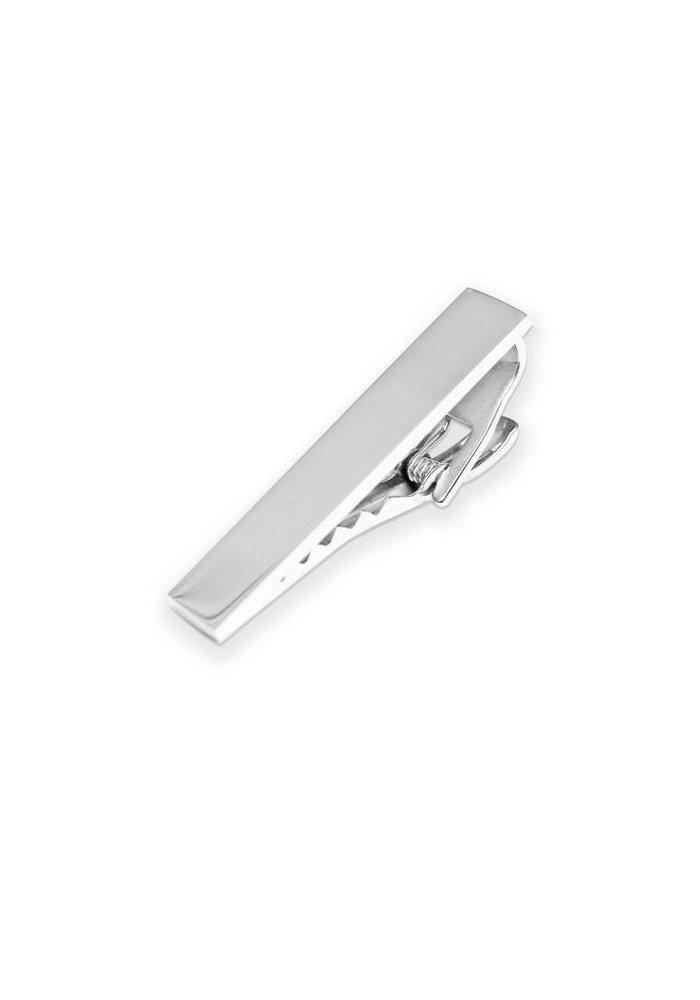 """Silver Tie Clip 1.5"""""""