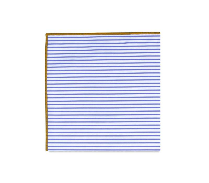 The Havana Stripe Pocket Square