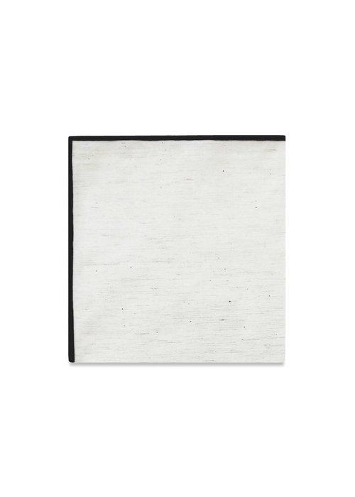 Pocket Square Clothing The Merrow (Black) Pocket Square