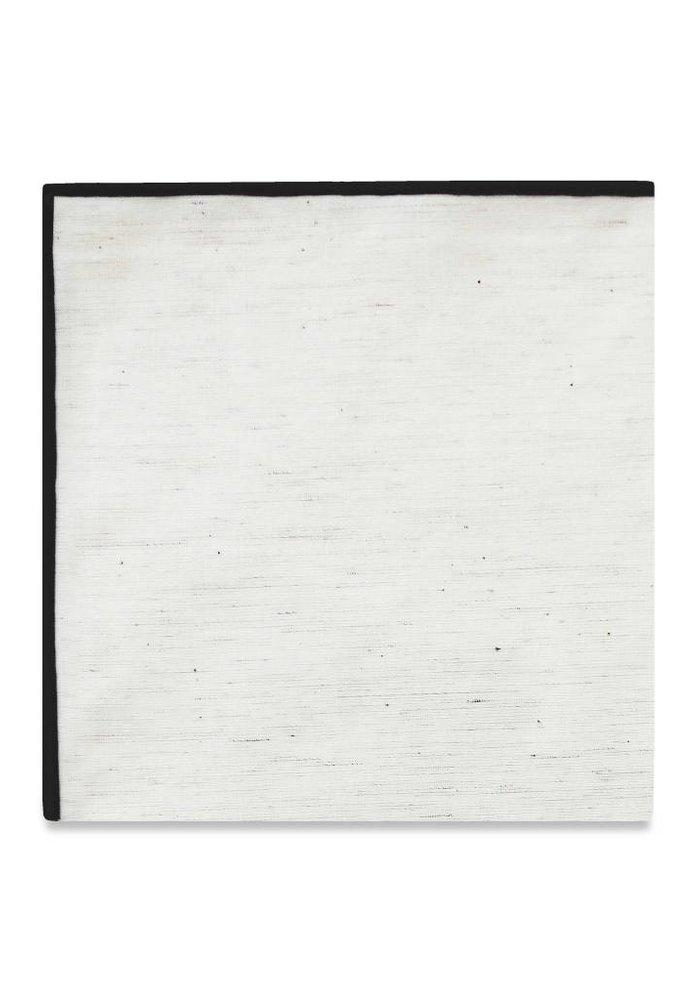 The Merrow (Black) Pocket Square