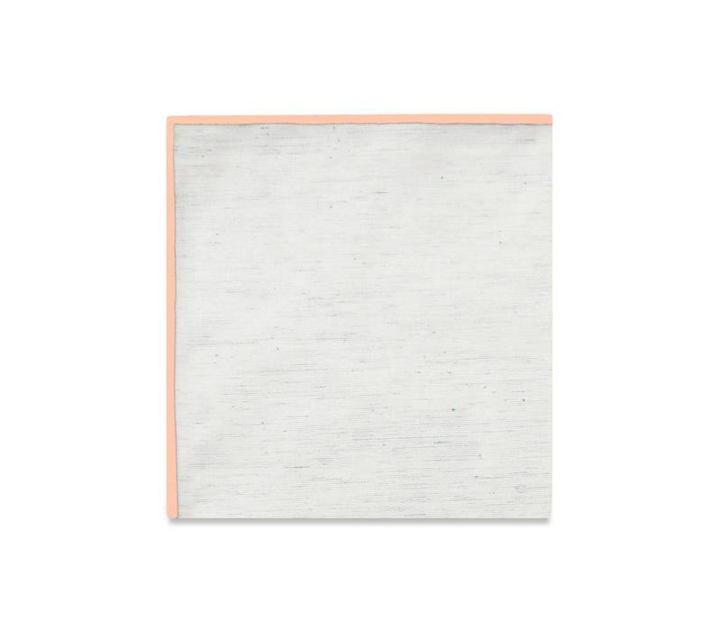 The Merrow (Coral) Pocket Square