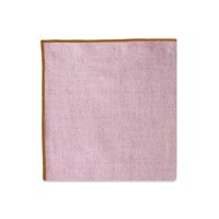 The Merrow (Orange Maroon) Pocket Square