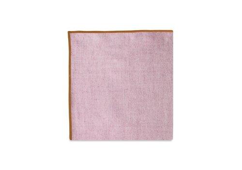 Pocket Square Clothing The Merrow (Orange Maroon) Pocket Square
