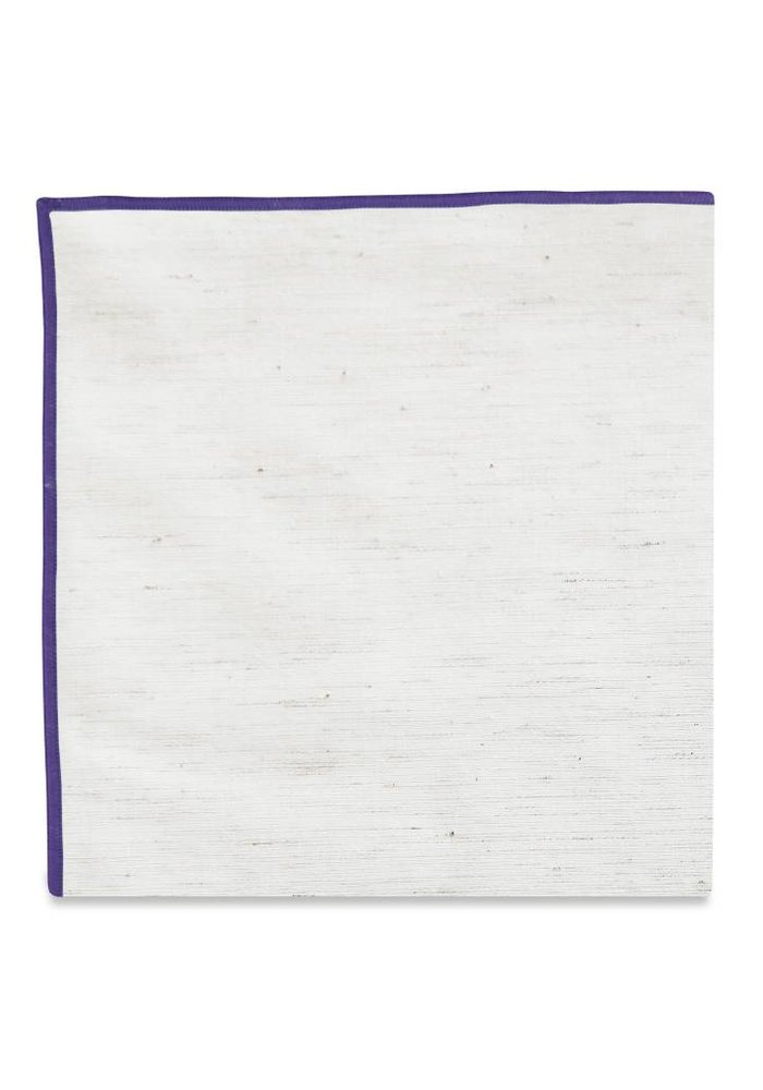 The Merrow (Purple) Pocket Square