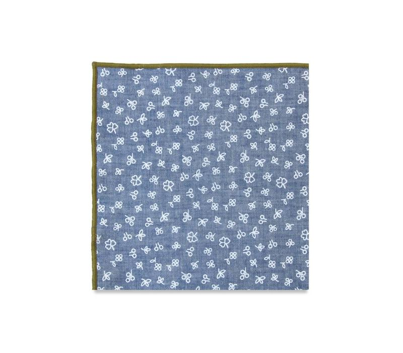The Quinn Floral Pocket Square
